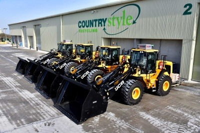 New JCB loaders on site at Countrystyle Recycling