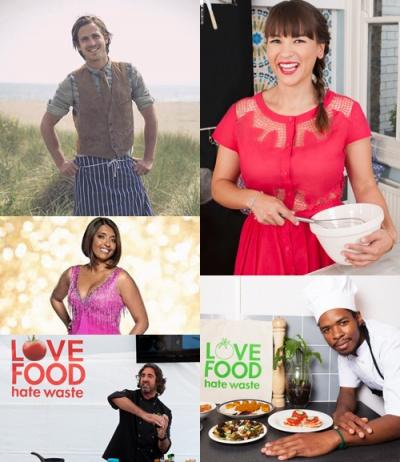 Love Food Hate Waste announces new celebrity ambassadors