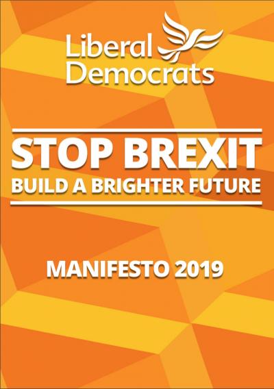 Liberal Democrats' 2019 manifesto