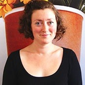 Lucy Frankel, Vegware's Communications Director.