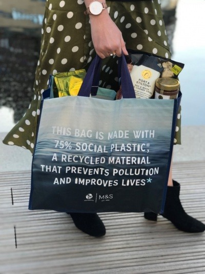 M&S launches eco-bag to tackle poverty and plastic waste