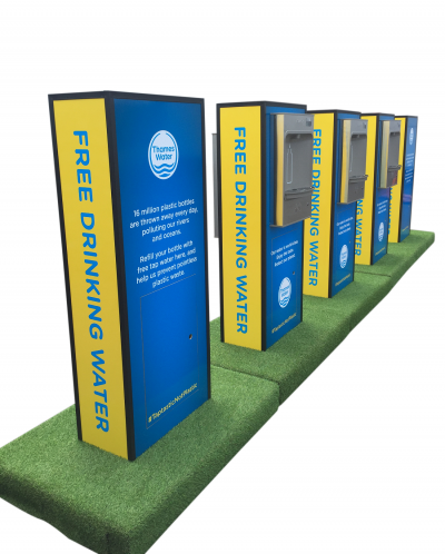 Thames Water unveils pop-up refill points at Countryfile Live