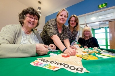 Merseyside community project refashions recycling through arts and crafts