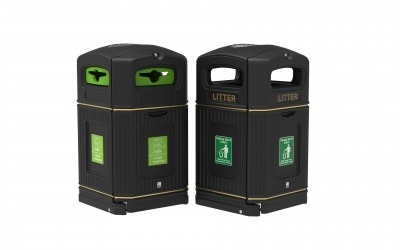 Liefield Environmental's new range of litter and recycling bins