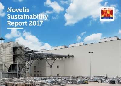 Novelis Sustainability Report reveals increased use of recycled content as waste to landfill rises