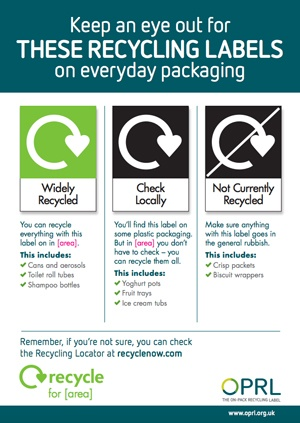 LARAC buy-in to recycling label scheme to offer public more consistent messaging