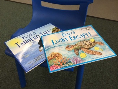 Viridor and Cardiff Council use picture book to educate children about marine pollution
