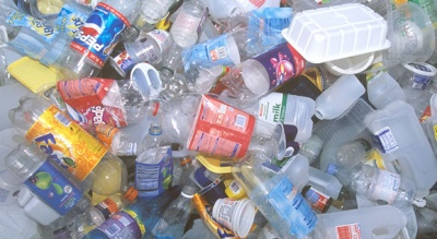 Plastic packaging recycling up six per cent