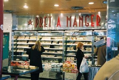 A Pret a Manger shop