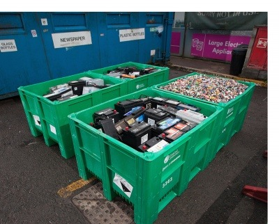 Millions of Dolav plastic pallet boxes assist recycling