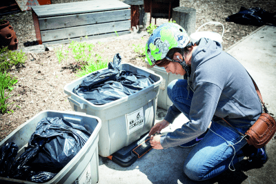 Small-scale composter in New York