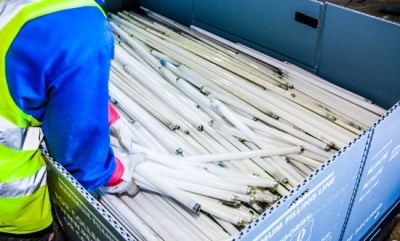 One lamp recycled every second by Recolight as light recycling sector growth continues
