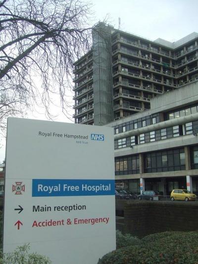 The Royal Free London Hospital