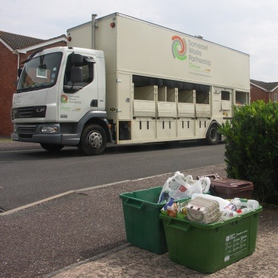 Somerset Waste Partnership's new contract with SUEZ is worth £570 million.