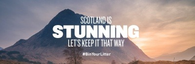 Scotland is Stunning campaign image