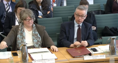 Gove: No deal solution for environmental governance is 'sub-optimal'