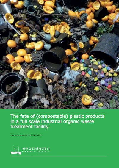 Front cover of the Wageningen Food & Biobased Research unit study.