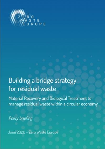 Zero Waste Europe calls for EU 'bridge strategy' for residual waste