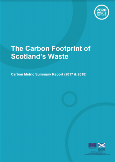 The Carbon Footprint of Scotland's Waste