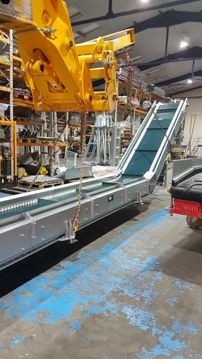 Coveyer's Swan Neck conveyer