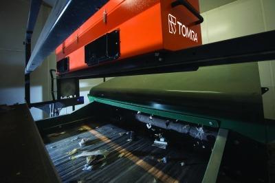 A TOMRA AUTOSORT machine