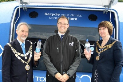 The Mayors of West Devon and Tavistock at the Tavistock Goose Fair