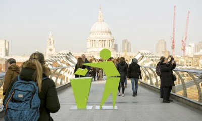 Keep Britain Tidy re-launches Tidyman symbol