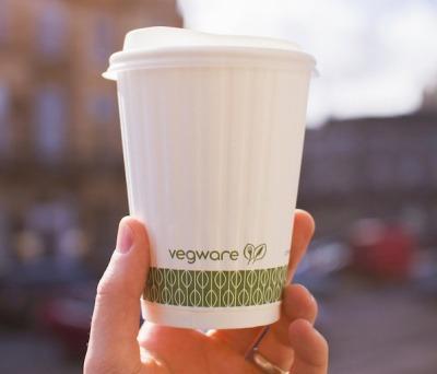 Vegware compostable cup