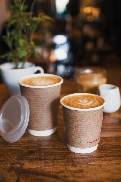 Vegware's compostable coffee cups