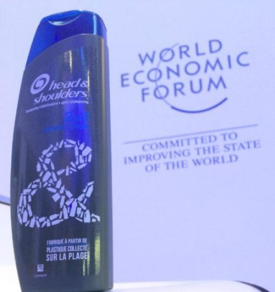 P&G launches Head & Shoulders bottle made from beached plastic waste