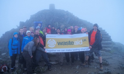 Waste professionals raise thousands for developing countries with charity walk