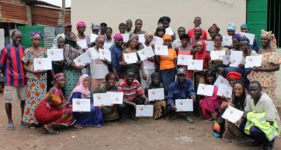 WasteAid UK wins award for Gambia work