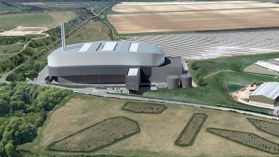 Wheelabrator Harewood, a new waste-to-energy facility near Andover, Hampshire.