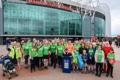 An image of Manchester WasteAid fundraisers