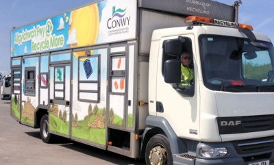Conwy four-weekly refuse collection trial increases recycling by 17 per cent