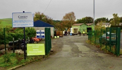 Conwy's Mobile Recycling Centre