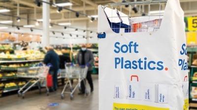 Tesco soft plastics recycling point