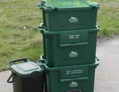 Wales recycling rate drops for the first time