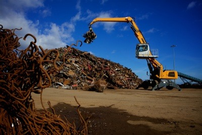 An image of waste metals site