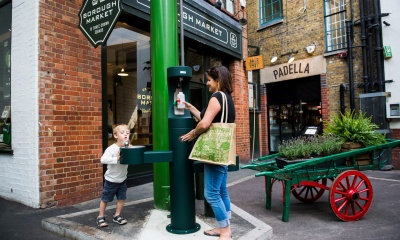 Plans for cross-London water fountain network to tackle plastic bottle waste