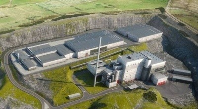 An artist's impression of the proposed facility at Mallusk