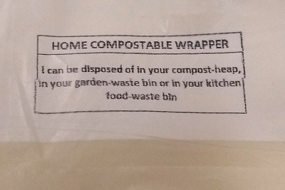 Home Compostable Wrapper