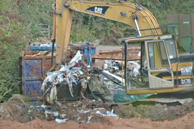 Suspended jail sentence for illegal landfill owner