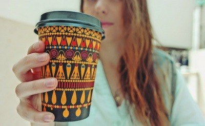 An image of a reusable coffee cup