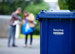 Barnet targets recycling from flats