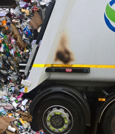 Battery explosion prompts recycling warning