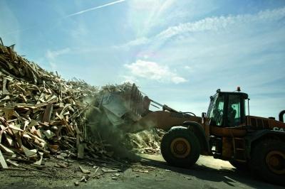 Biomass wood recycling