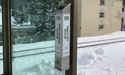 City-wide cigarette recycling introduced in Davos