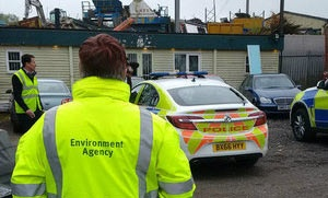 Nationwide dawn raids over illegal waste operation