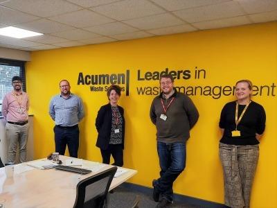 Acumen Waste Services team photo